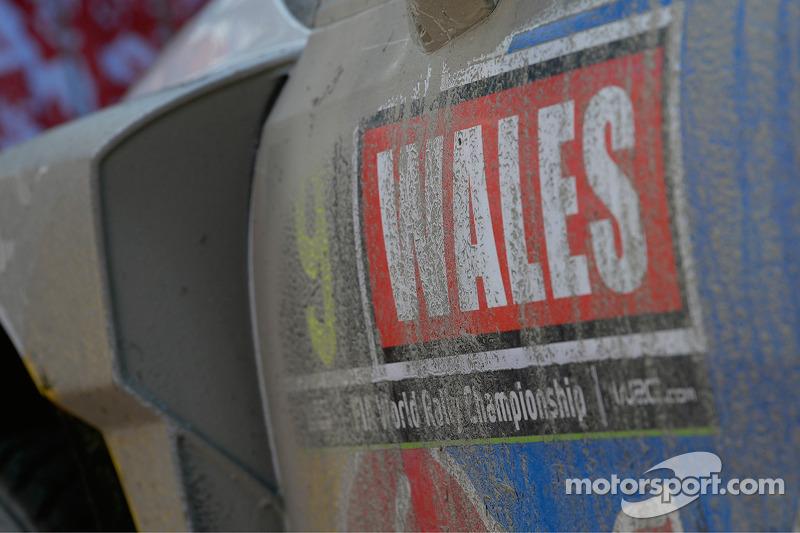 Volkswagen Wales Rally GB dettaglio