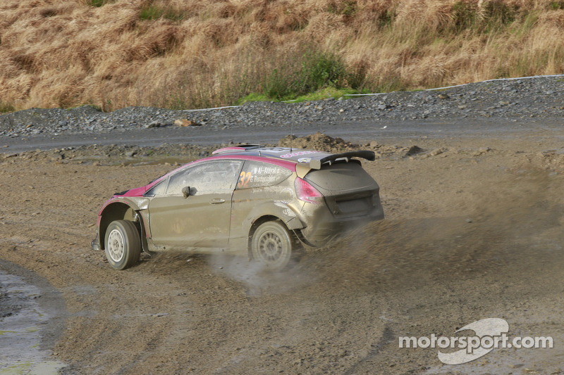 Nasser Al Attiy ah y Giovanni Bernaccheni, Ford Fiesta RRC