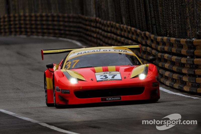 #37 BBT Team by AF Corse Ferrari 458 GT3: Anthony Liu