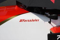 Un message de soutien pour Jules Bianchi