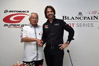 Stéphane Ratel,SRO赛车集团创始人和CEO,和Masaki Bandoh,GTA主席