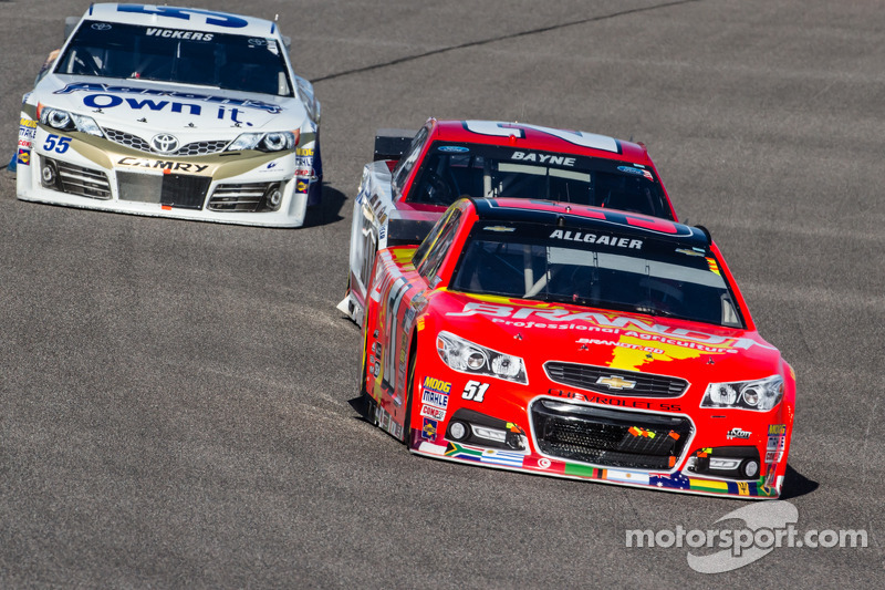 Justen Allgaier, Phoenix Racing Chevrolet
