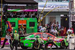 Pits, parada de Danica Patrick, Stewart-Haas Racing Chevrolet