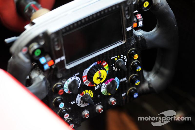 Ferrari F14-T direksiyon