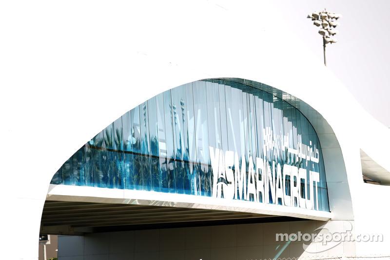 Yas Marena Circuit signage