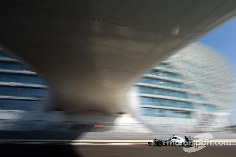 Нико Росберг. ГП Абу-Даби, Первая пятничная тренировка.