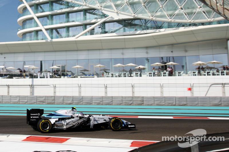 Valtteri Bottas, Williams FW36 senza cover laterale