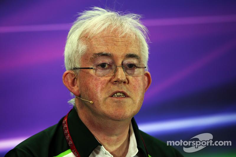 Finbarr O'Connell, Caterham F1 Takımı Yöneticisi FIA Basın Konferansı'nda
