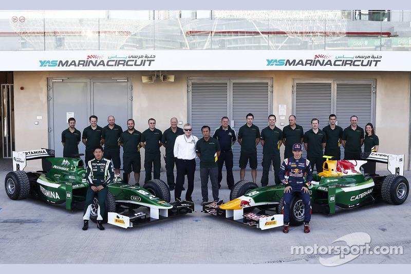 Caterham Racing Takımı fotoğrafı