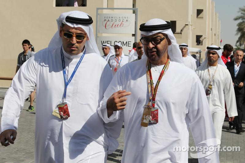 卡尔杜恩·阿尔·穆巴拉克殿下,阿布扎比行政事务管理局