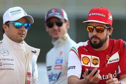 Fernando Alonso und Felipe Massa,