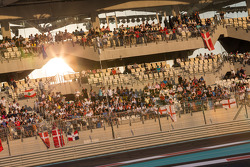 ГП Абу-Даби, Воскресенье, перед гонкой.