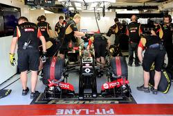 Charles Pic, Third Driver, Lotus F1 Team