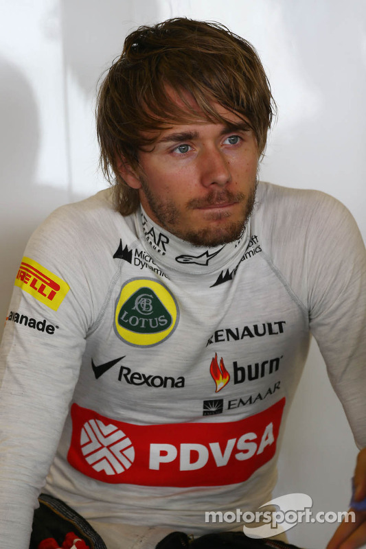 Charles Pic, Lotus F1 Team, tercer piloto