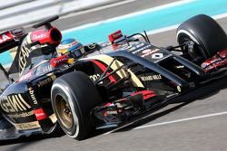 Test à Abu Dhabi en novembre