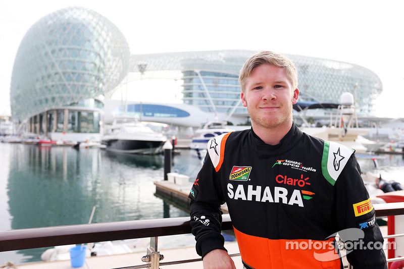 Spike Goddard, Sahara Force India F1 Team Test Driver