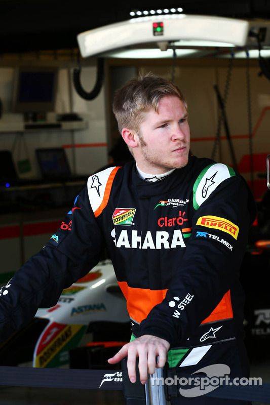 Spike Goddard, Sahara Force India F1 Team piloto de testes