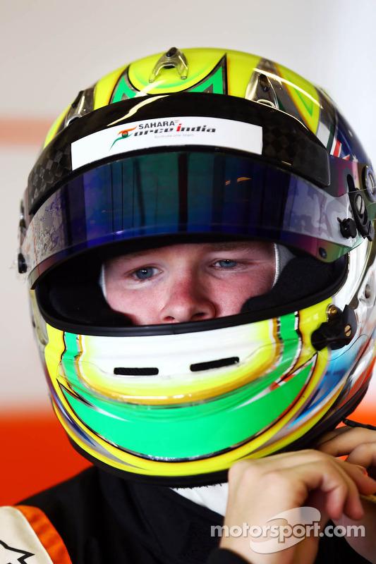 Spike Goddard, Sahara Force India F1 Team piloto de testes