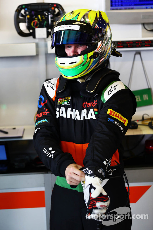 Spike Goddard, Sahara Force India F1 Team piloto de pruebas
