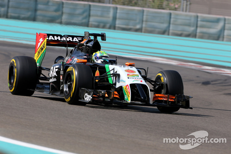 Spike Goddard, Sahara Force India F1 VJM07, prova la Info Wing