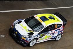 吉吉·卡里和塔马拉·莫里纳罗,福特嘉年华WRC