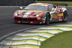 #71 AF Corse 法拉利 458 Italia: 达维德·里贡, 詹姆斯·卡拉多