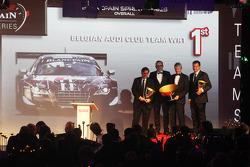 Blancpain Sprint Series-overall teams podium