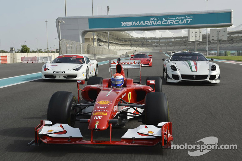 Ferrari F1, 458 Challenge, FXX programme
