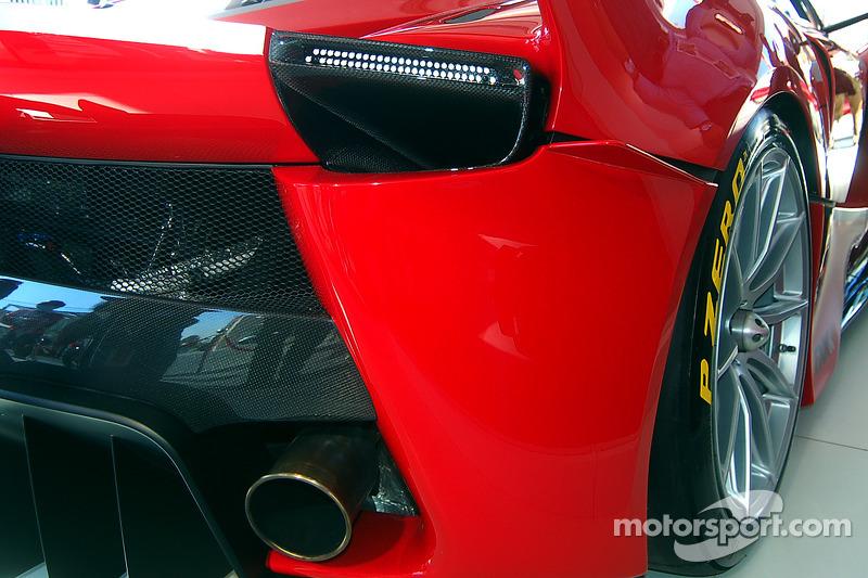 Detalle de Ferrari FXX K