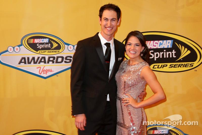 Joey Logano e la sua fidanzata Brittany Baca