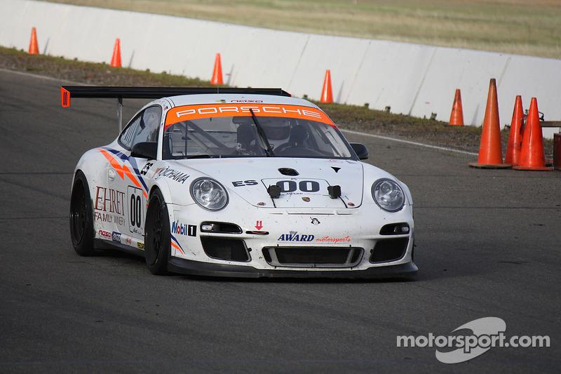 #00 Award Motorsport Porsche GT3 Cup: Anthony Ward