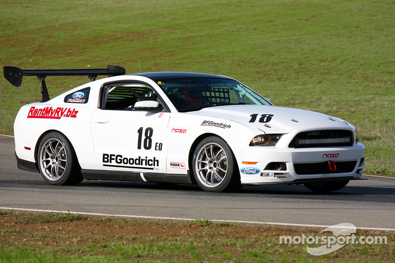 #18 Speed Trixx Motorsports Ford Boss 302S: Aaron Bailey, Chris Porritt, Scotty White, Will Hunolz