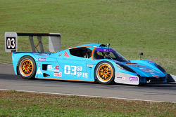 #03 Equipo Quick Racing Products Superlite SLC: Chris Durbin, Darrell Anderson, Mike Skeen, Ryan Eversley