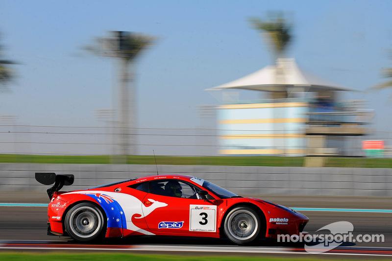 #3 AF Corse Ferrari 458 GT3: Steve Wyatt, Michele Rugolo, Davide Rigon