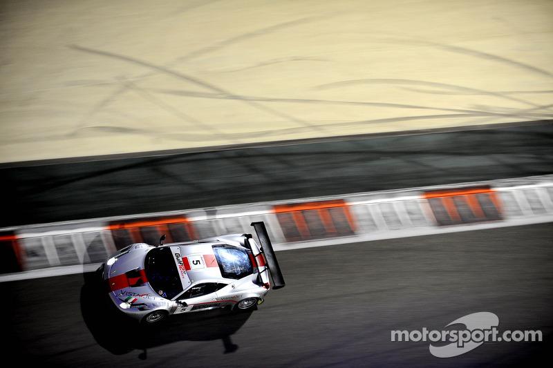 #5 AF Corse 法拉利 458 GT3: 托马斯·弗洛尔, 弗朗西斯科·卡斯泰拉奇, 安德里亚·里佐利