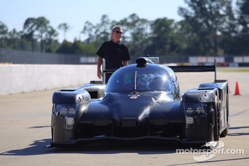 Extreme Speed Motorsports HPD ARX-04b, prova per la prima volta