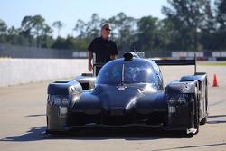 Презентация HPD ARX-04b команды Extreme Speed Motorsports, особое событие.