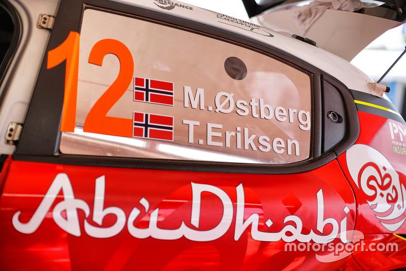 Mads Ostberg, Craig Breen, Citroën World Rally Team Citroën C3 WRC
