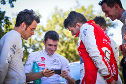 Craig Breen, Citroën World Rally Team, Thierry Neuville, Hyundai Motorsport