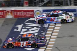 Denny Hamlin, Joe Gibbs Racing, Toyota Camry FedEx Freight A.J. Allmendinger, JTG Daugherty Racing, Chevrolet Camaro Kroger ClickList