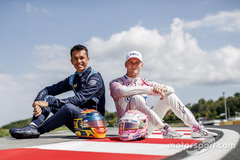 Alexander Albon et Maximilian Günther, les vainqueurs de Silverstone