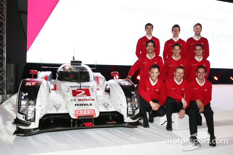 WEC LMP1组别,奥迪车队车手