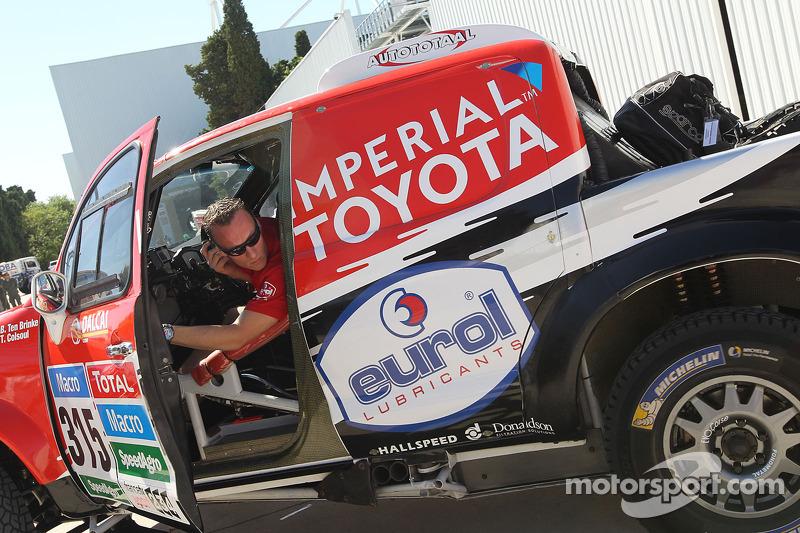 #315 Toyota: Bernhard Ten Brinke, Tom Colsoul
