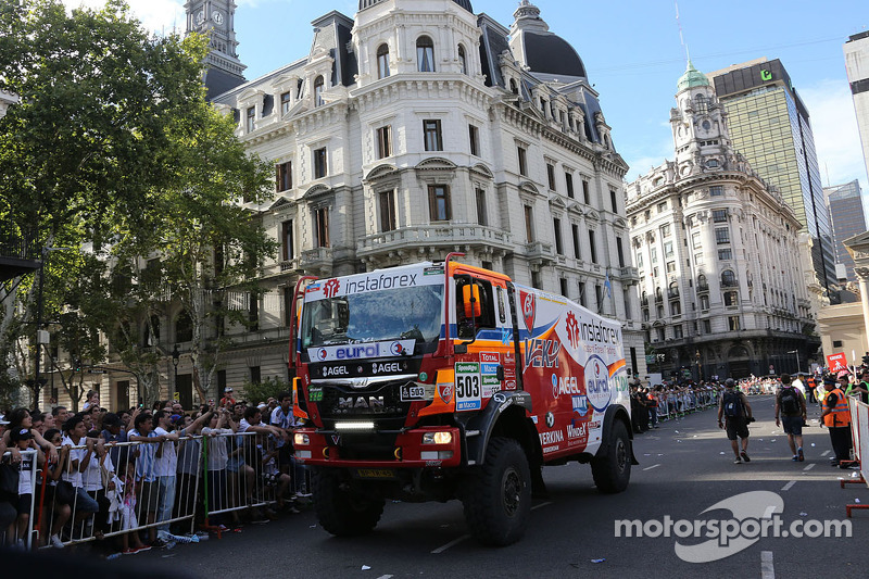 #503 MAN: Ales Loprais, Ferran Alcayna, Jan van der Vaet