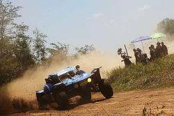 Acción en el Dakar