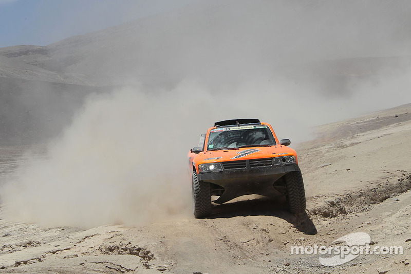 #308 Hummer: Robby Gordon, Johnny Campbell