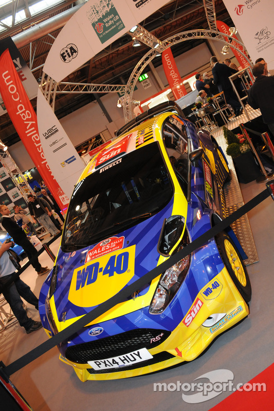 WD-40 Ford Fiesta Rally Car
