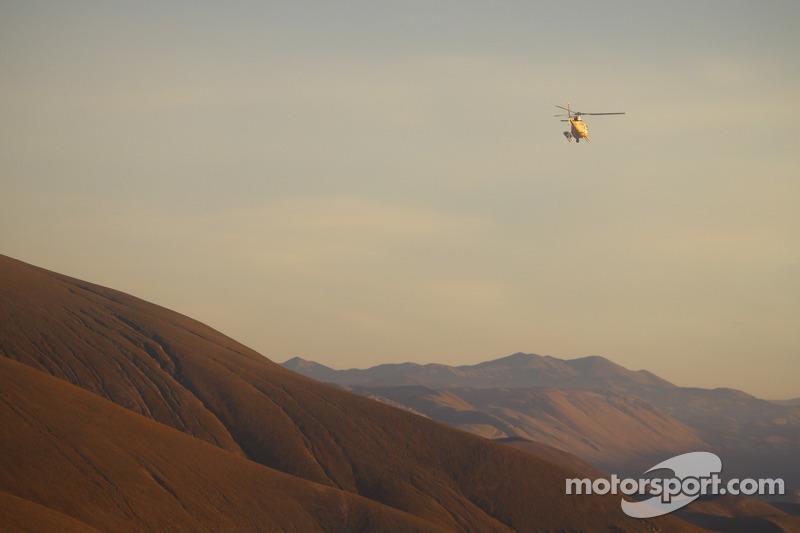 Pemandangan Dakar dan helicopter