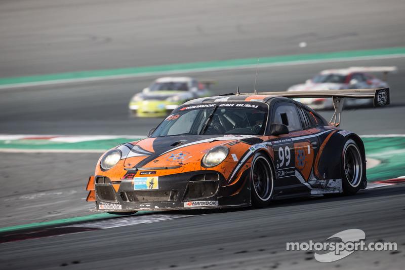 #99 Attempto Racing,保时捷997 GT3 R: Arkin Aka, Andreas Liehm, Bernd Kleinbach, Philipp Wlazik, Bill Ba
