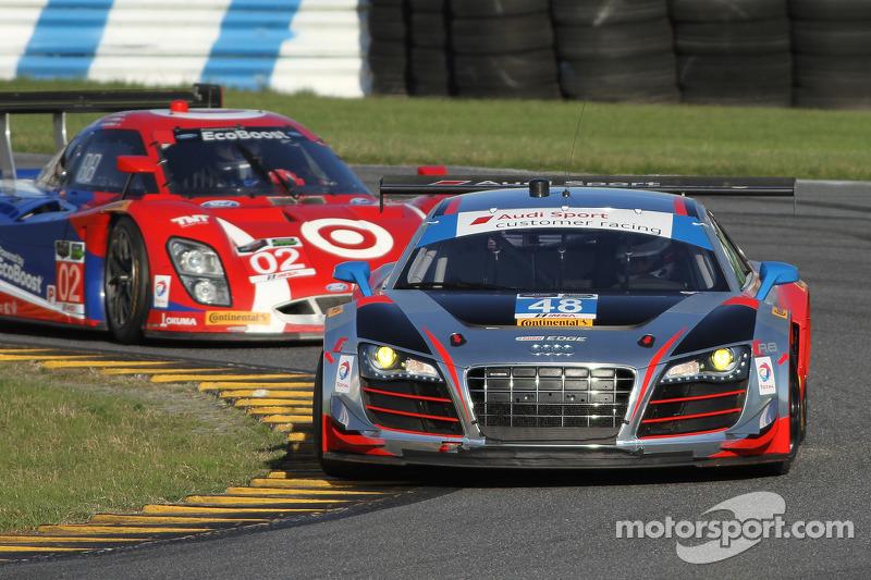 #48 Paul Miller Racing Audi R8 LMS: Крістофер Гаазе, Bryce Miller, Рене Раст, Dion von Moltke